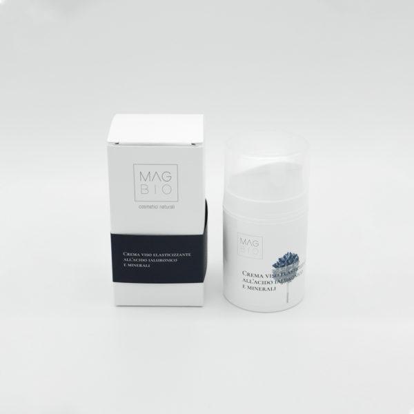 Crema viso elasticizzante all'acido ialuronico e minerali